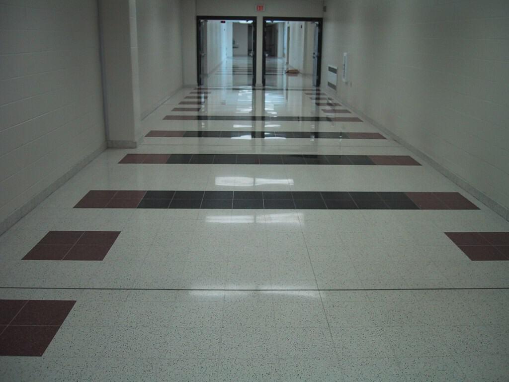 Kimberly High School Wisconsin Terrazzo Hallway